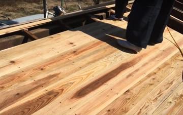野地板の補強