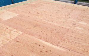 野地板 屋根工事