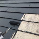 スレートコロニアル屋根塗装