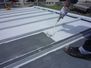 金属 トタン 屋根塗装