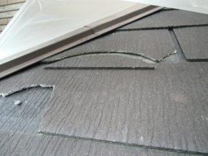 屋根工事 ひび割れ