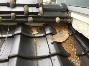 屋根修理 漆喰