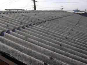 波型スレート 屋根修理