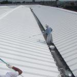 屋根 断熱塗装