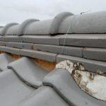 屋根瓦 しっくい