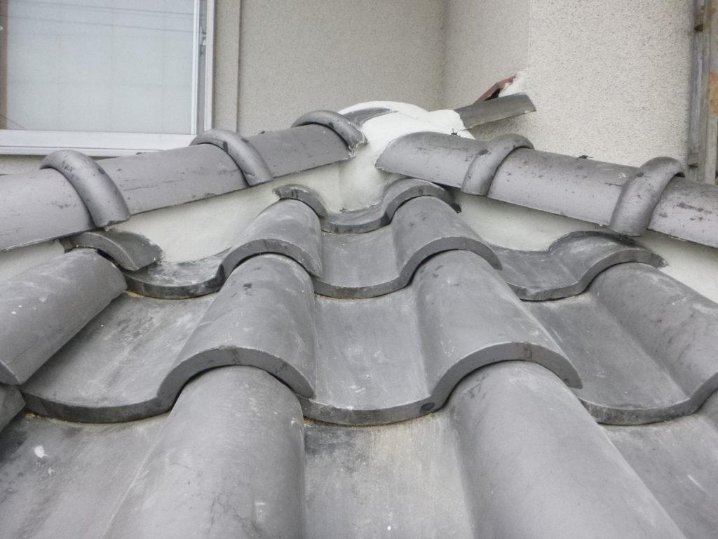 屋根工事 漆喰