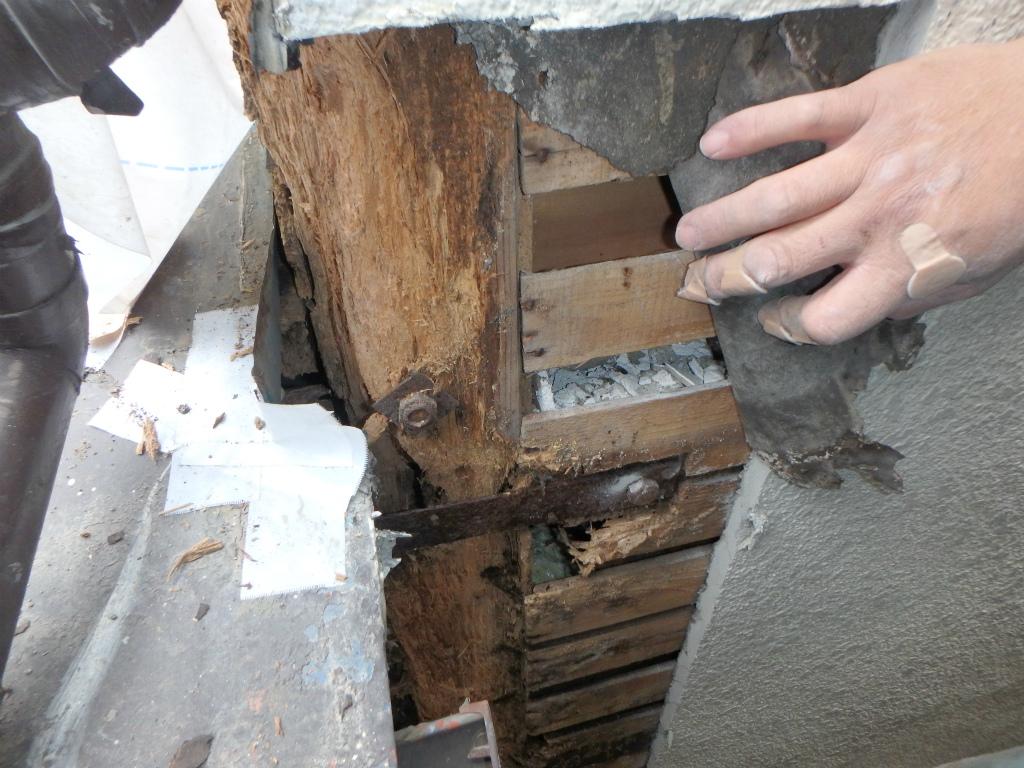 外壁塗装 雨漏り