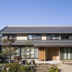 日本家屋 瓦屋根
