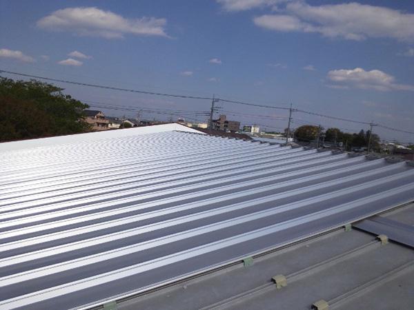 屋根工事 カバー