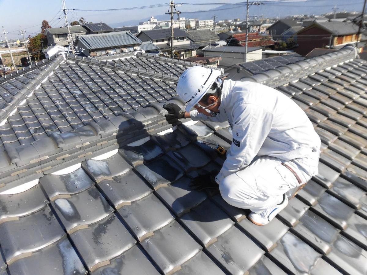 屋根工事 流れ