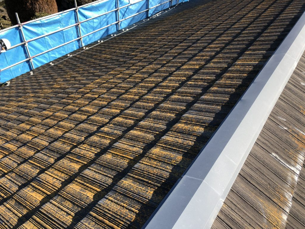 スレート 屋根塗装
