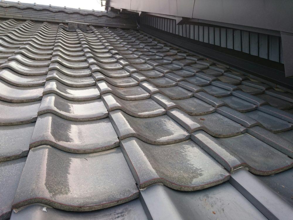 釉薬瓦 屋根リフォーム