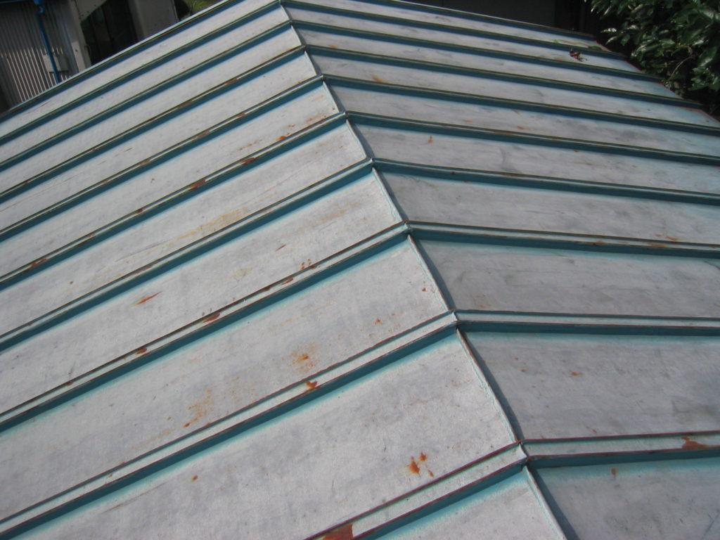 亜鉛メッキ 屋根